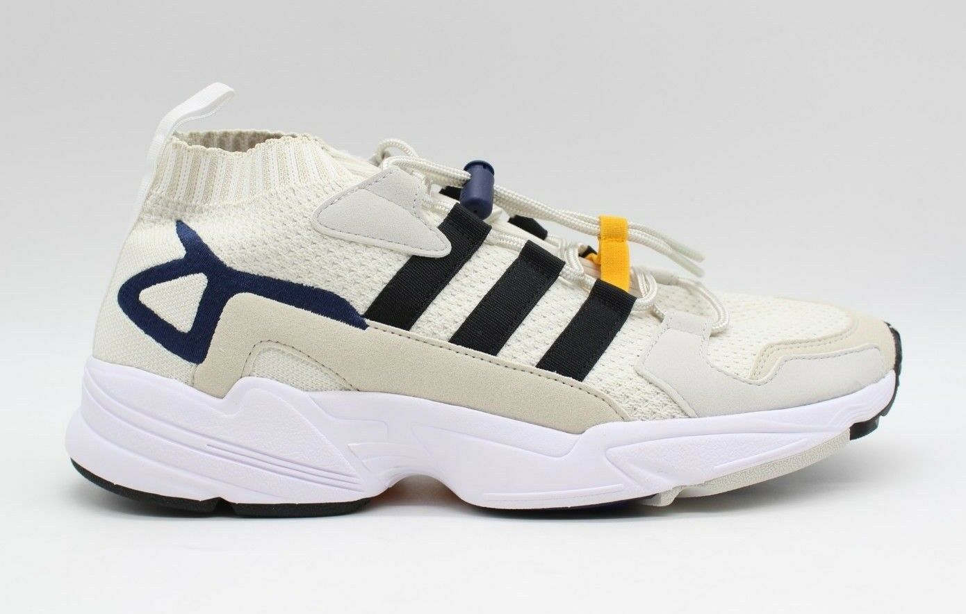 Adidas Consortium Falcon Workshop Pack Cream Black Running shoes BC0695 - NEW