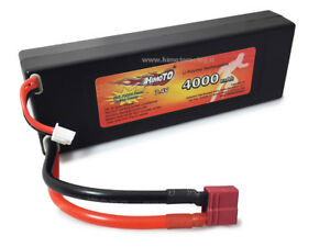 Batterie rechargeable Lipo 7,4v 4000mah 2s Cellules Burst 100c Disch.50c