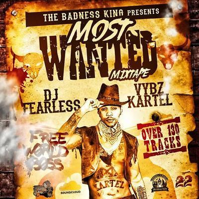 Vybz Kartel – Most Wanted Dancehall Mix Cd   eBay