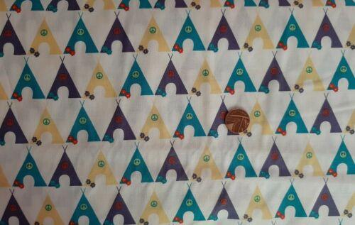 Colección de camping carpa libertad de tela patrón material artesanías Medidor De Media