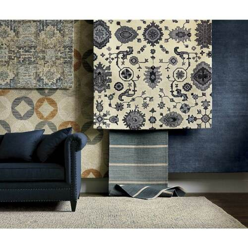 Crate /& Barrel 6/' x 9/' Destry Handmade Parsian Style 100/% Woolen Rugs /& Carpet