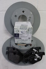 Genuine Mercedes-Benz W204 C-Class Saloon/Est REAR Brake Discs & Pads Kit NEW!