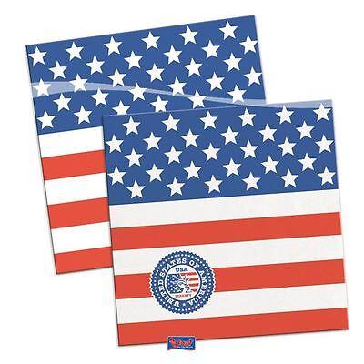 1 X Servietten Usa Party 25x25cm / 20 StÜck Usa United States Of America Erfrischend Und Wohltuend FüR Die Augen