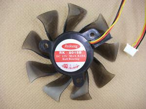 Image Is Loading 75mm VGA Video Card Fan 4 9800 9600