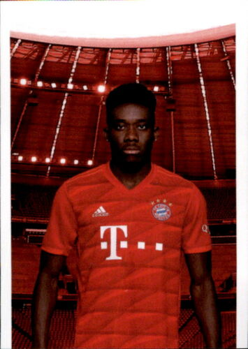 Panini FC Bayern München 2019//20 Sticker 101 Alphonso Davies