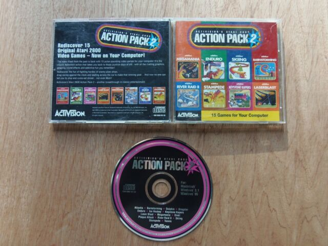 Activision's Atari 2600 Action Pack 2 (PC, 1995) PC Game