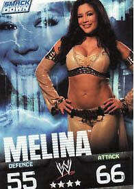 WWE SLAM ATTAX evolution-michelle McCool SMACKDOWN carte