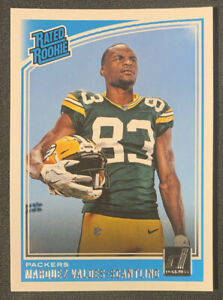 Marquez Valdes-Scantling 2018 Donruss Rated Rookie Card RC #336  QTY