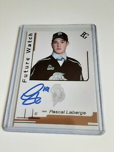 Pascal-Laberge-Custom-Card-Future-Watch-Auto-Signed-In-Person-Rookie-Rc