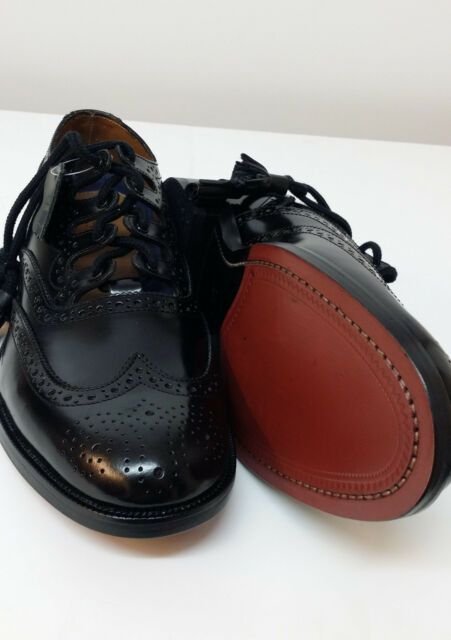 1/2 price Black Speyside Ghillie Brogues Leather upper & Sole all sizes1/2 sizes