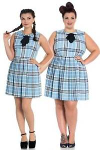 e5e9459e958507 Image is loading Hell-Bunny-Aberdeen-Rockabilly-Swing-Mini-Day-Tea-