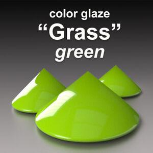 """#fr """"vert D'herbe"""" Double Quantité Basf Emaux Glaçure Couleur Céramique Clay Lissage De La Circulation Et Des Douleurs D'ArrêT"""