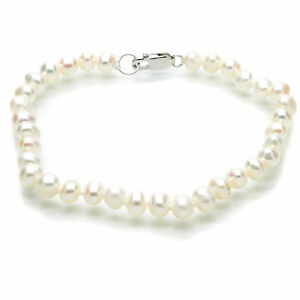 Pearl-Bracelet-White-Cultured-Freshwater-Pearls-Sterling-Silver-Gift-Bag