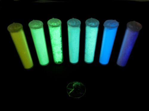 Glow-in-the-Dark Phosphorescent Pigment Powder Strontium Aluminate Small Vial