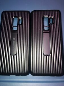 Lot-Of-2pc-Original-Samsung-Galaxy-S9-Plus-Rugged-Protective-with-Kickstand-Case