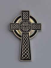 Celtic Cross  Quality Enamel Pin Badge