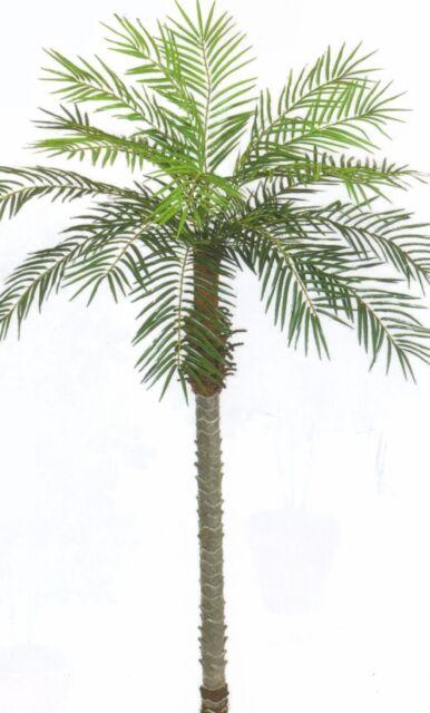 7u0027 ARTIFICIAL PHOENIX PALM TREE PLANT POOL PATIO SAGO COCONUT ARECA DATE  TOPIARY