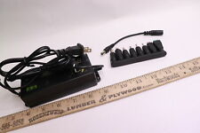 Alloverpower Adjustable Dc Power Supply Kit Adapter Black With Variable 8 Plugs