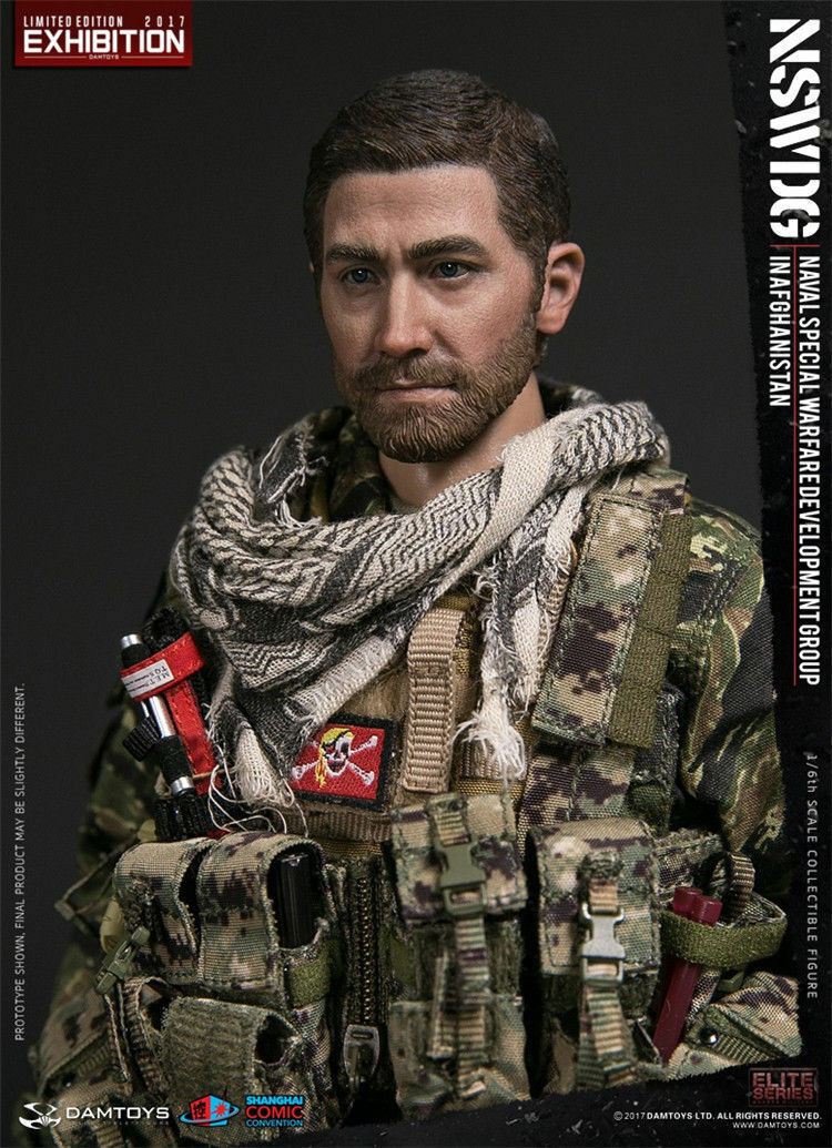DAMTOYS 1 6 NSWDG in Afghanistan 78049 SHCC 2017 Exhibition Ver. Action Figure