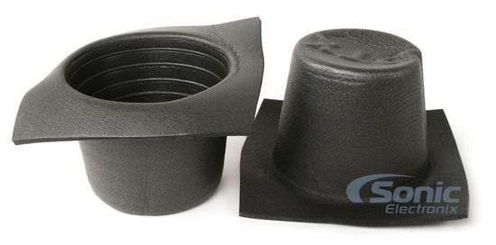 "Universal 3/"" Black Round Foam Acoustic Car Audio Stereo Speaker Baffles VXT32"