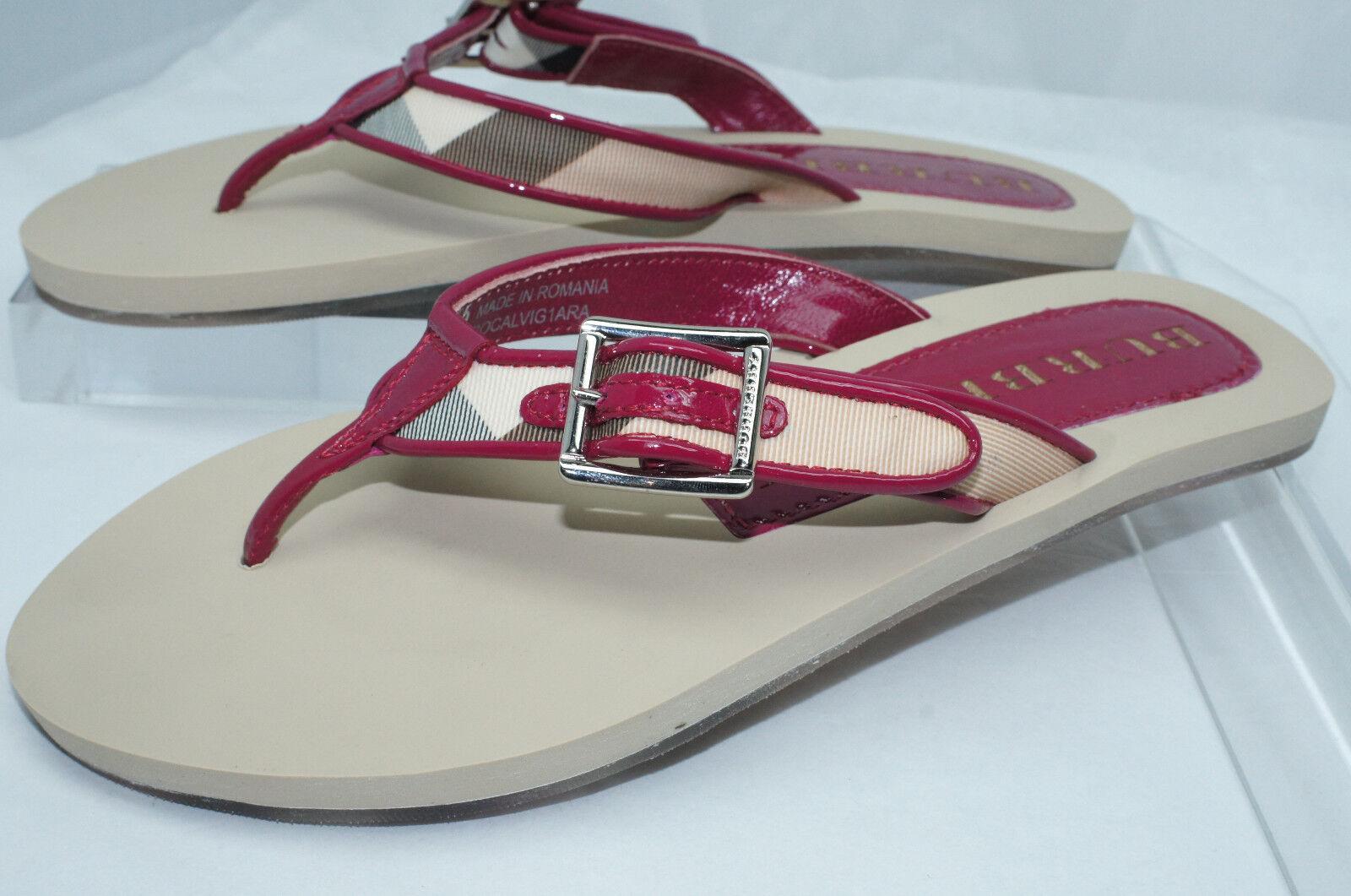 Nuevo Sandalias de comprobación de Burberry Tangas Nova tamaño tamaño tamaño 36 Flip Flop Zapatos  Venta en línea precio bajo descuento