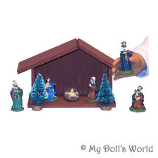CHRISTMAS NATIVITY! 9 PIECES! FITS MY AMERICAN GIRL DOLL SAMANTHA~HOLIDAY~MIA!