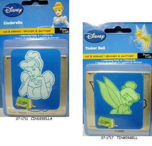 NEW DISNEY CUTTLEBUG Cut  Emboss *You Choose* Tinkerbell Cinderella PROVO CRAFT