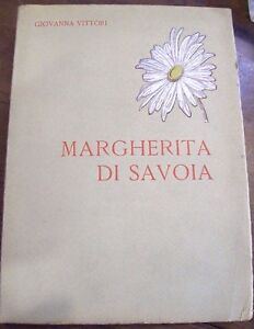 Regina-MARGHERITA-DI-SAVOIA-libro-in-memoria-1926-1936-G-Vittori-1935-old-book