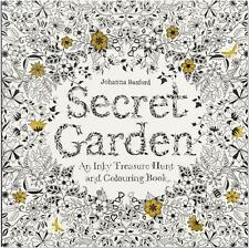 IN SYDNEY Secret Garden An Inky Treasure Hunt Coloring Book By Basford Johanna
