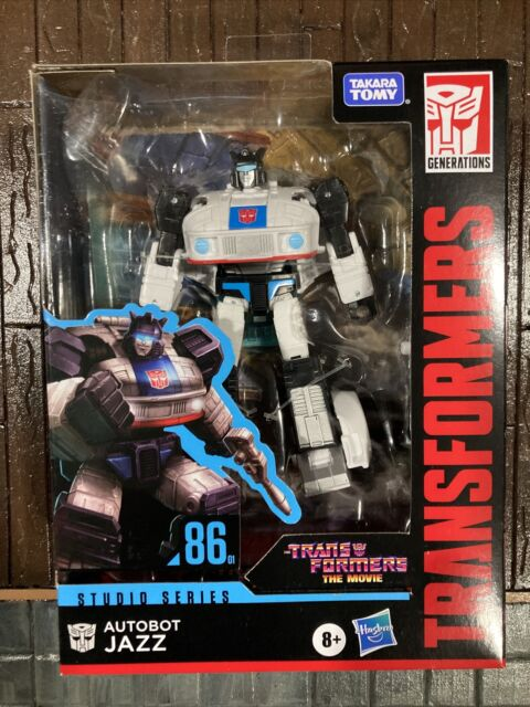 Transformers Movie Studio Series Deluxe Class Jazz 1986 Movie 86-01 New