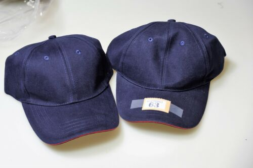 O tag63 Pair of Unbranded Unisex Baseball Caps for this price Navy One Size