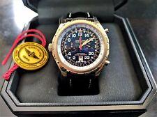 BREITLING Chrono-Matic H22360 18K Rose Gold 45MM Pilots' 24 hour Chrono 29/250