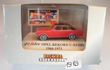 Brekina 1/87 20512 40 Jahre Opel Rekord C-Reihe 1966-1971 OVP #1989