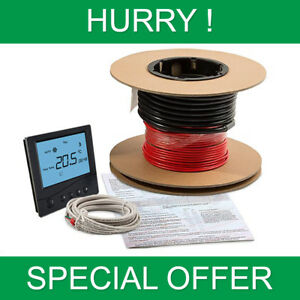 Cool Electric Underfloor Heating Loose Wire Heating Cable Kit Whilst Wiring Cloud Hisonuggs Outletorg