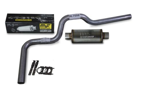 car truck exhaust systems chevy silverado gmc sierra 88 95 3 single exhaust kit magnaflow muffler auto parts accessories