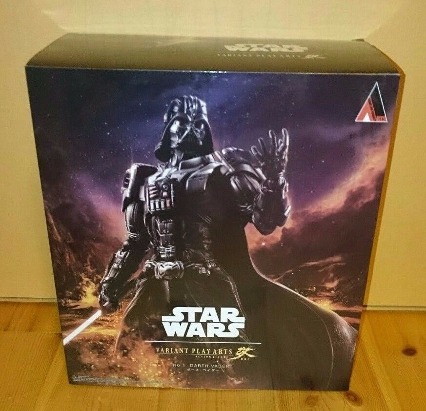 Square Enix Star Wars Darth Vader figure VARIANT Play Arts Kai Authentic F S