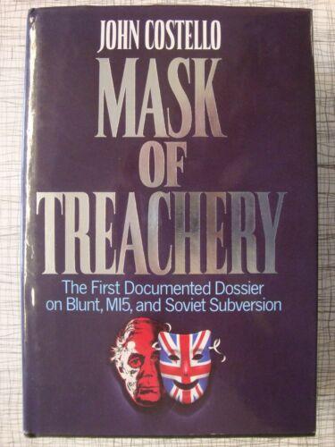 1 of 1 - Mask Of Treachery (Anthony Blunt, MI5, Soviet Subversion, CIA, Burgess, Philby)