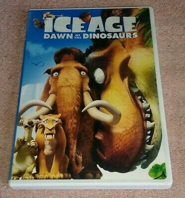 Ice Age Dawn Of The Dinosaurs Dvd Animated Ray Romano John Leguizamo 24543625124 Ebay