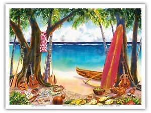 Koolau Blues Hawaii Peggy Chun Hawaii Watercolor Painting Print Oahu