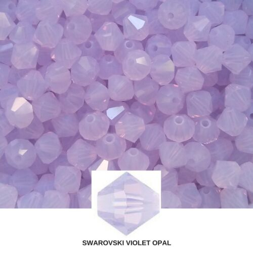 4//5 MM Violet Opal Swarovski Bicones Crystal Beads 144//432 Pieces FREE SHIPPING
