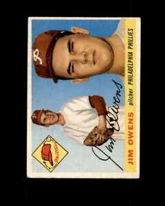 Jim-Owens-Rookie-Card-1955-Topps-202-Philadelphia-Phillies
