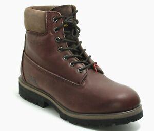 153 Chaussures à Lacets Basses Bottes Homme Cuir Marche Machines CAT 43
