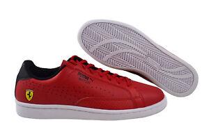 Puma-SF-match-ferrari-zapatos-zapatillas-rosso-corsa-puma-Black-White-306002-01