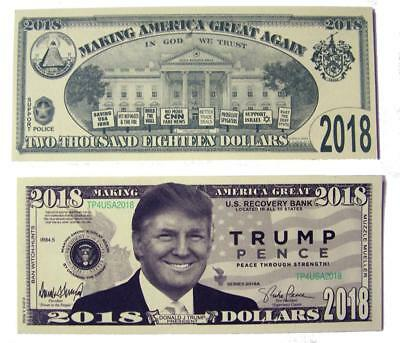 Trick Donald Trump Pence Dollar Bill