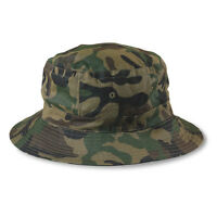 Wholesale Lot 1 Dozen 12 Camo Bucket Hats - Hike / Fish / Camping / Hunting