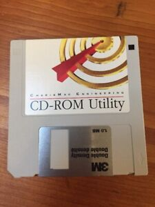 Vintage-Macintosh-CharisMac-Engineering-CD-ROM-Utility-Floppy-Disk-Software-1995