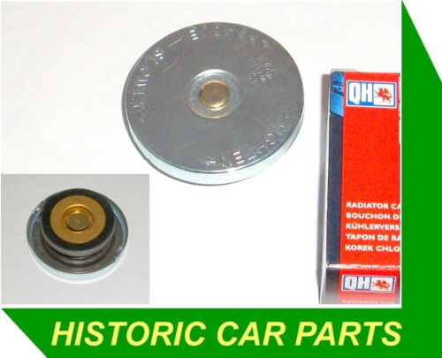 """3/"""" ROUND RADIATOR CAP for Land Rover Series 2A 2¼ lt 1958-61 replace FC42A 10lb"""