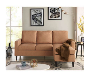 New Living Room Apartment Sofa Sectional Reversible Chaise Lounge ...