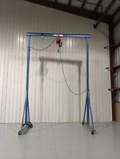 Gorbel Portable Steel Gantry Crane