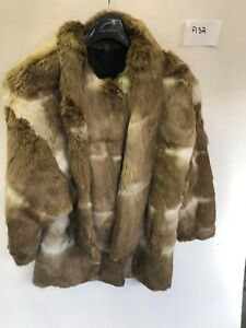 33 Armpit 22 Ladies Vintage Brun Real I Coat F132 Length Armhulen Fur Pw8g8q0